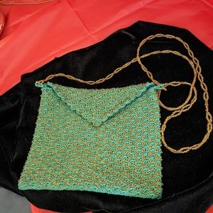Handmade Beaded Jewelry Pouch